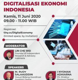 BAGAIMANA COVID-19 MENDORONG  DIGITALISASI EKONOMI INDONESIA