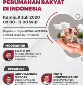TAPERA & JAMINAN PENYEDIAAN  PERUMAHAN RAKYAT INDONESIA