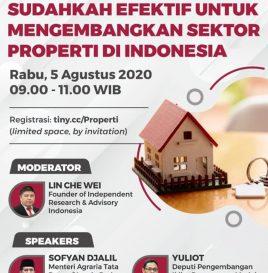REGULASI KEPEMILIKAN PROPERTI OLEH  ASING, SUDAHKAH EFEKTIF UNTUK  MENGEMBANGKAN SEKTOR PROPERTI DI  INDONESIA
