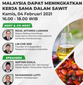 KEBERHASILAN DIPLOMASI SAWIT DI EU &  BAGAIMANA INDONESIA MALAYSIA DAPAT  MENINGKATKAN KERJA SAMA DALAM SAWIT