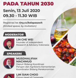 PERAN KELAPA SAWIT DALAM MENCAPAI  SDGs PADA TAHUN 2030