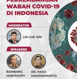 PERKEMBANGAN WABAH COVID-19 DI  INDONESIA